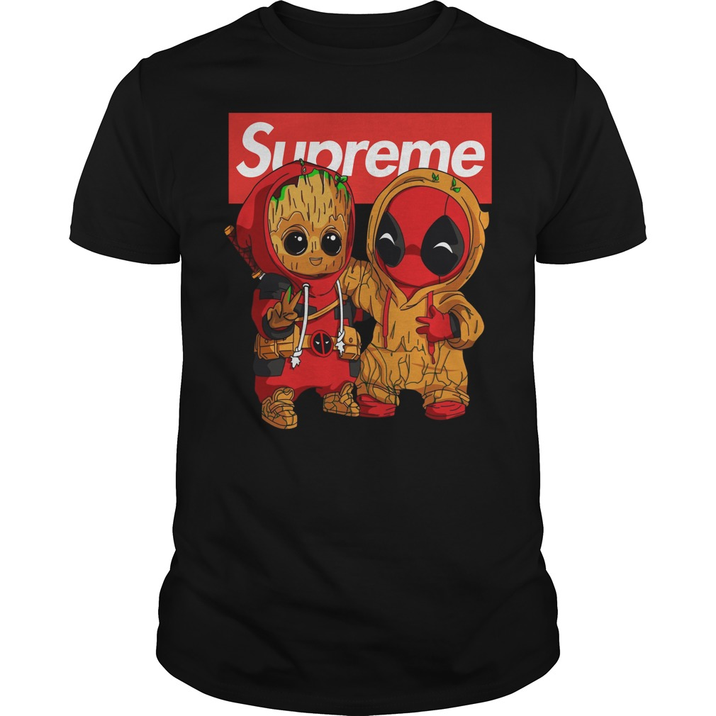 Baby Groot And Deadpool Supreme shirt