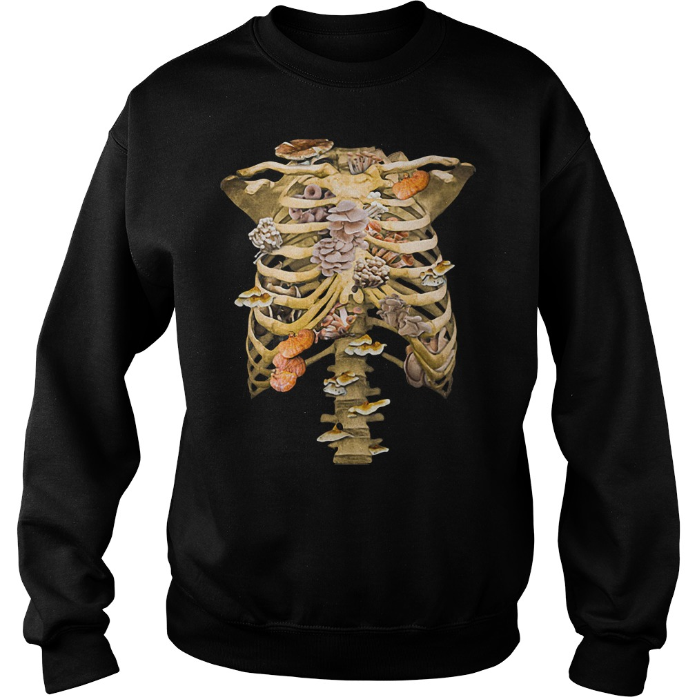 Bone Fungus sweater