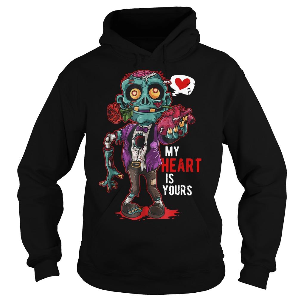 Original Zombie My Heart Is Yours hoodie