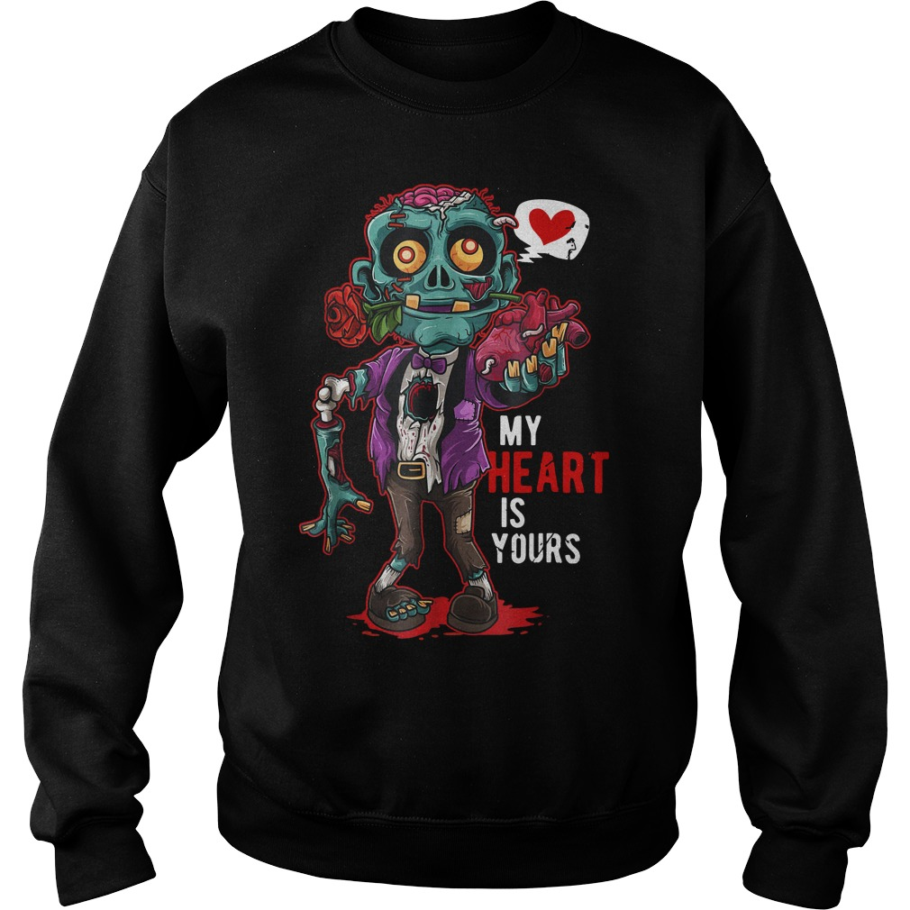 Original Zombie My Heart Is Yours sweater