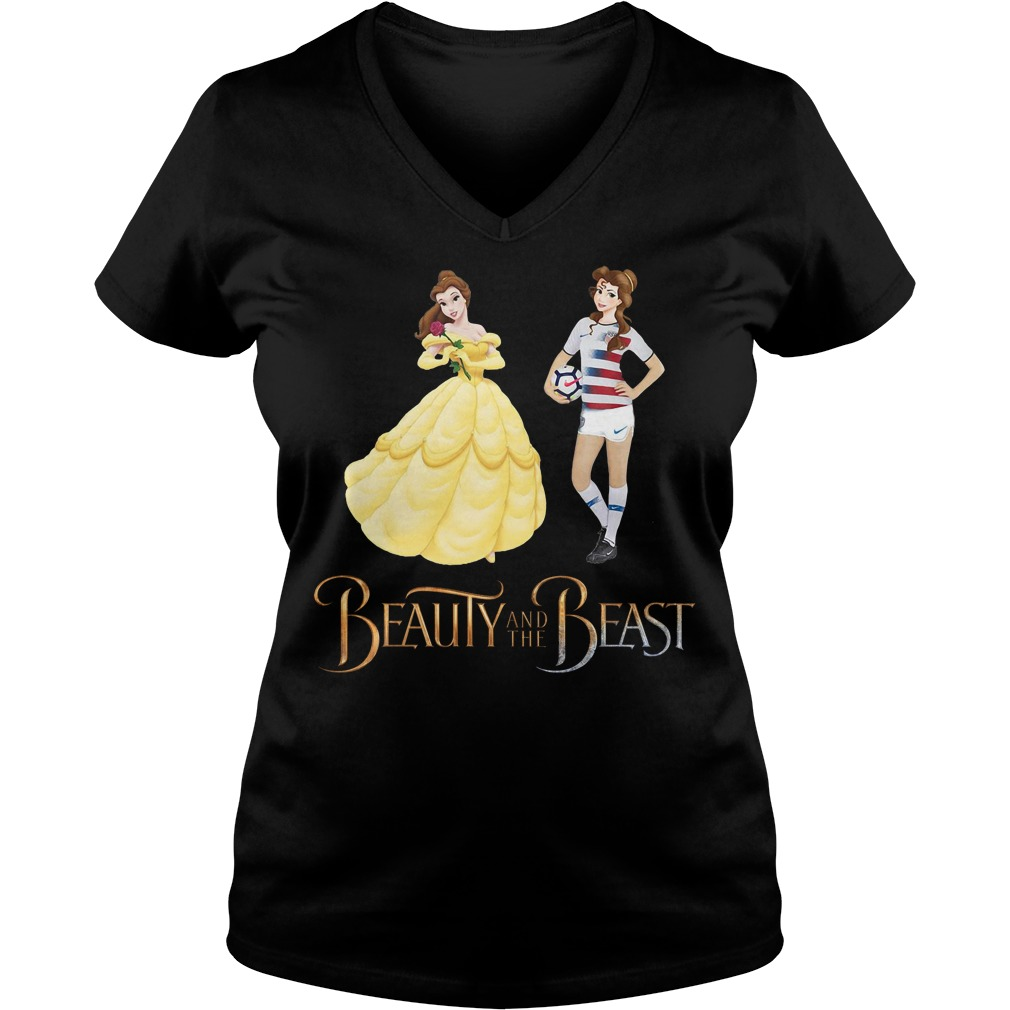 Beauty and the Beast Belle baseball V-neck T-shirt