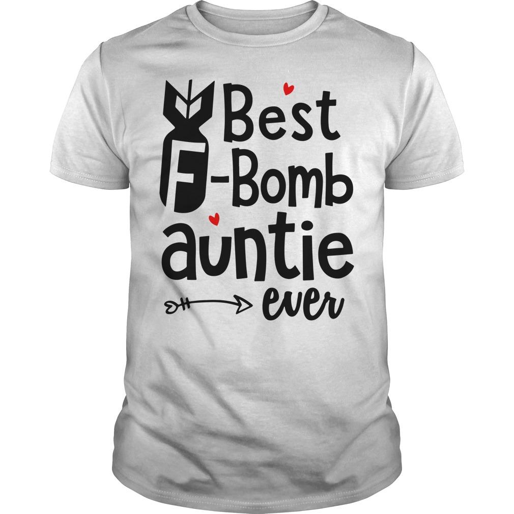 Best F-bomb auntie ever Guys shirt