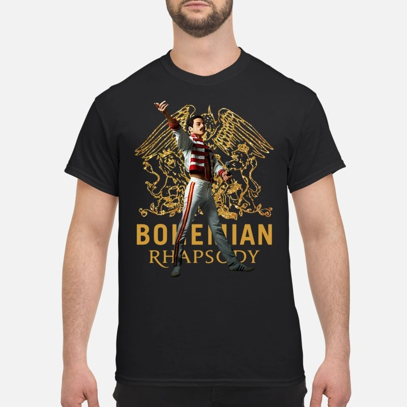 Bohemian Rhapsody Freddie Mercury queen Guys shirt