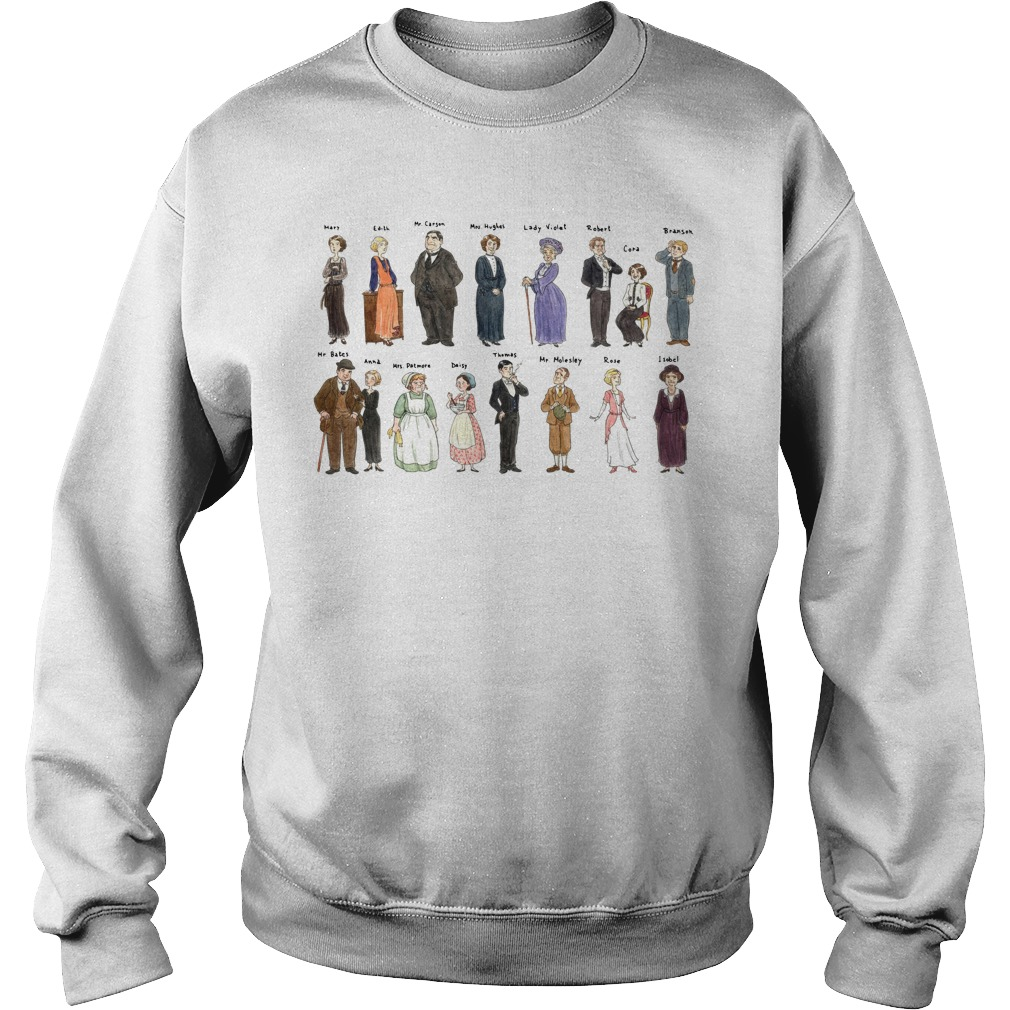 All character Downton Abbey Portraits Sweater