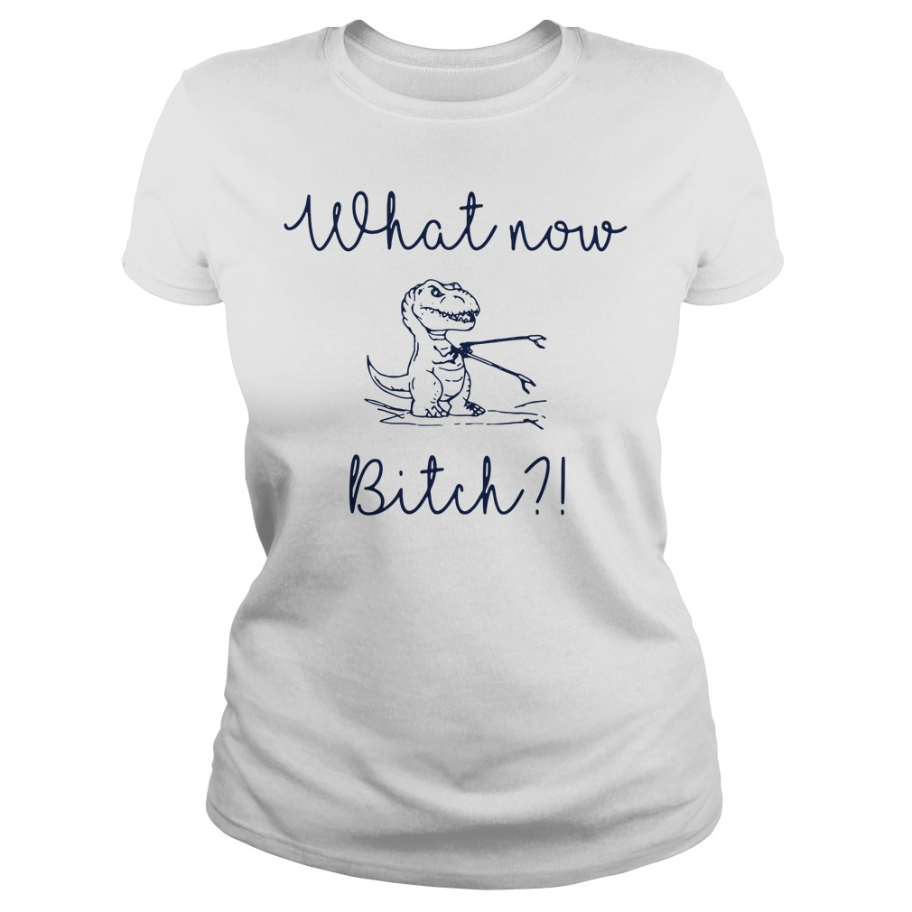 Dinosaurs what now Bitch Ladies tee