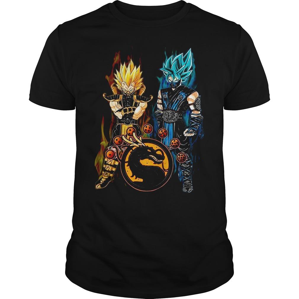 Dragon ball Son Goku and Vegeta Guys shirt