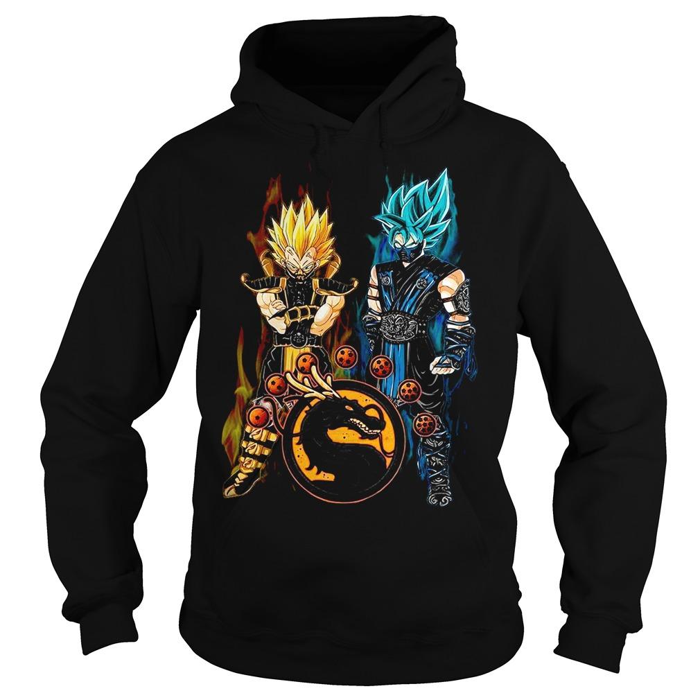 Dragon ball Son Goku and Vegeta Hoodie