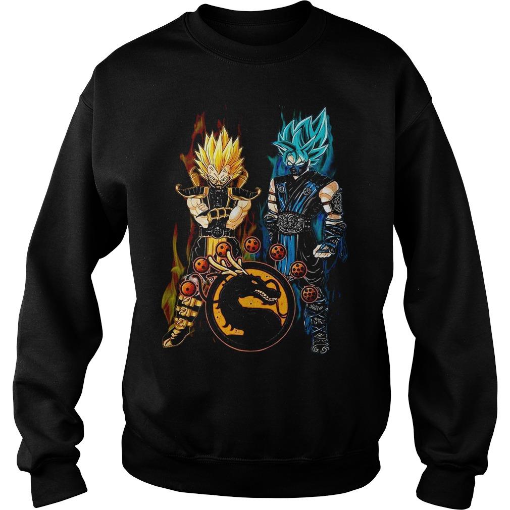 Dragon ball Son Goku and Vegeta Sweater