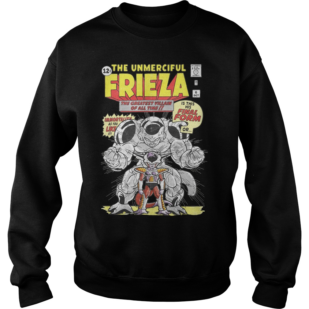 Dragon ball the unmerciful Frieza the greatest villain of all time Sweater