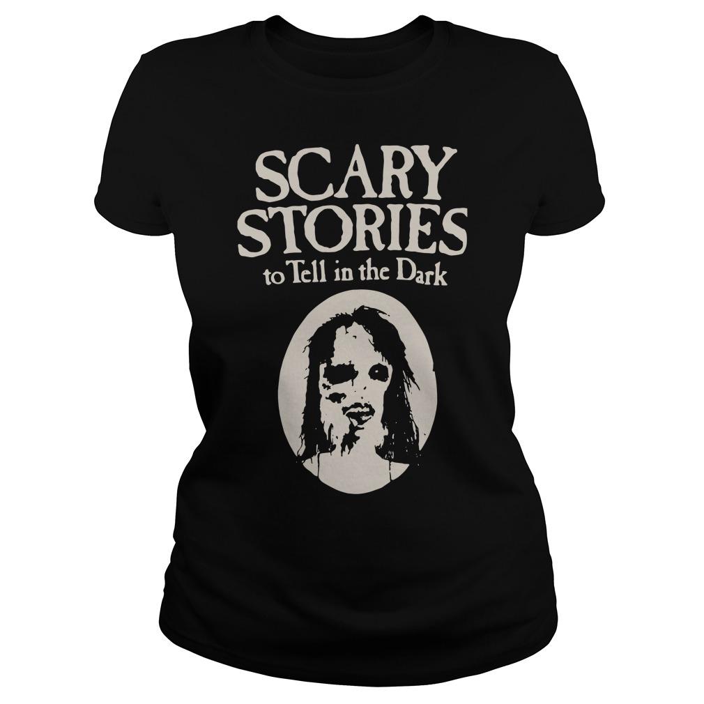 Freakiest Tales Scary stories to tell in the Dark Ladies tee