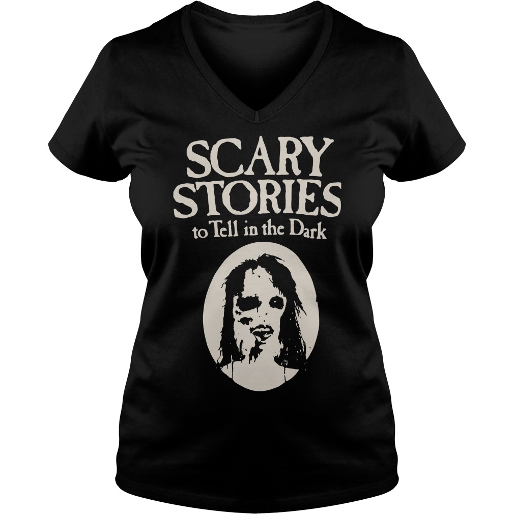 Freakiest Tales Scary stories to tell in the Dark V-neck T-shirt