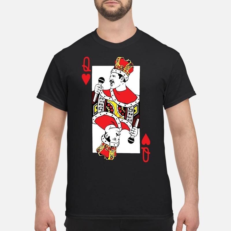 Freddie Mercury Joker Q Guys shirt