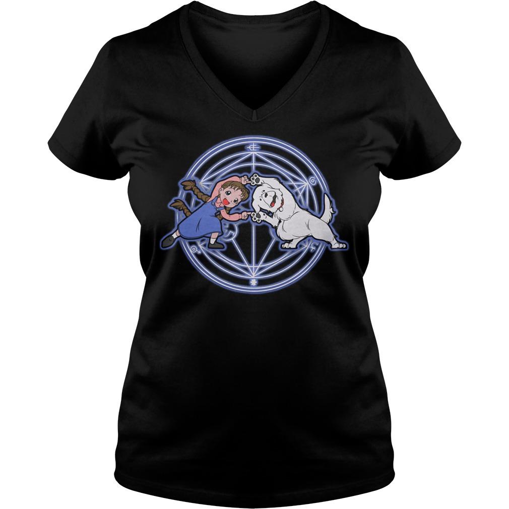 Fullmetal Alchemist Chimera V-neck T-shirt