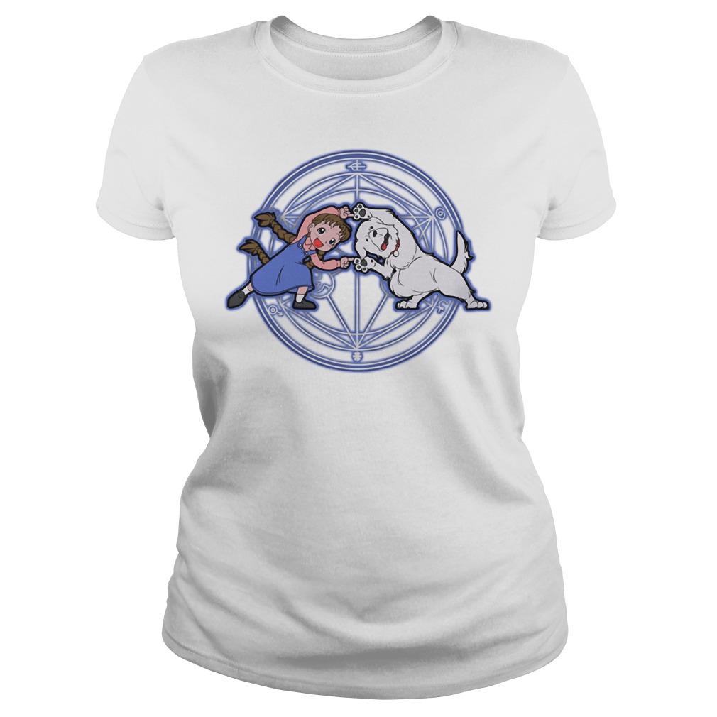 Fullmetal Alchemist Fusion Ladies tee
