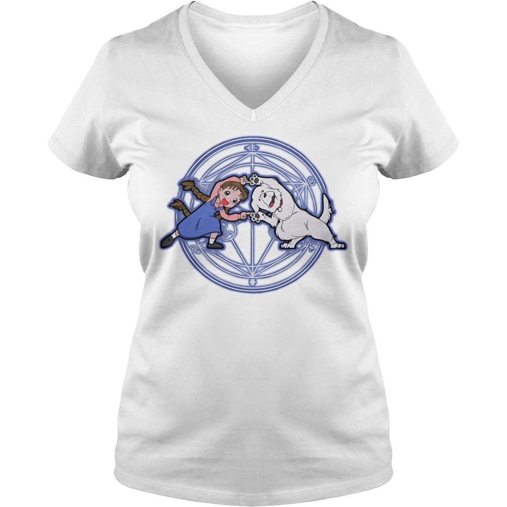 Fullmetal Alchemist Fusion V-neck T-shirt