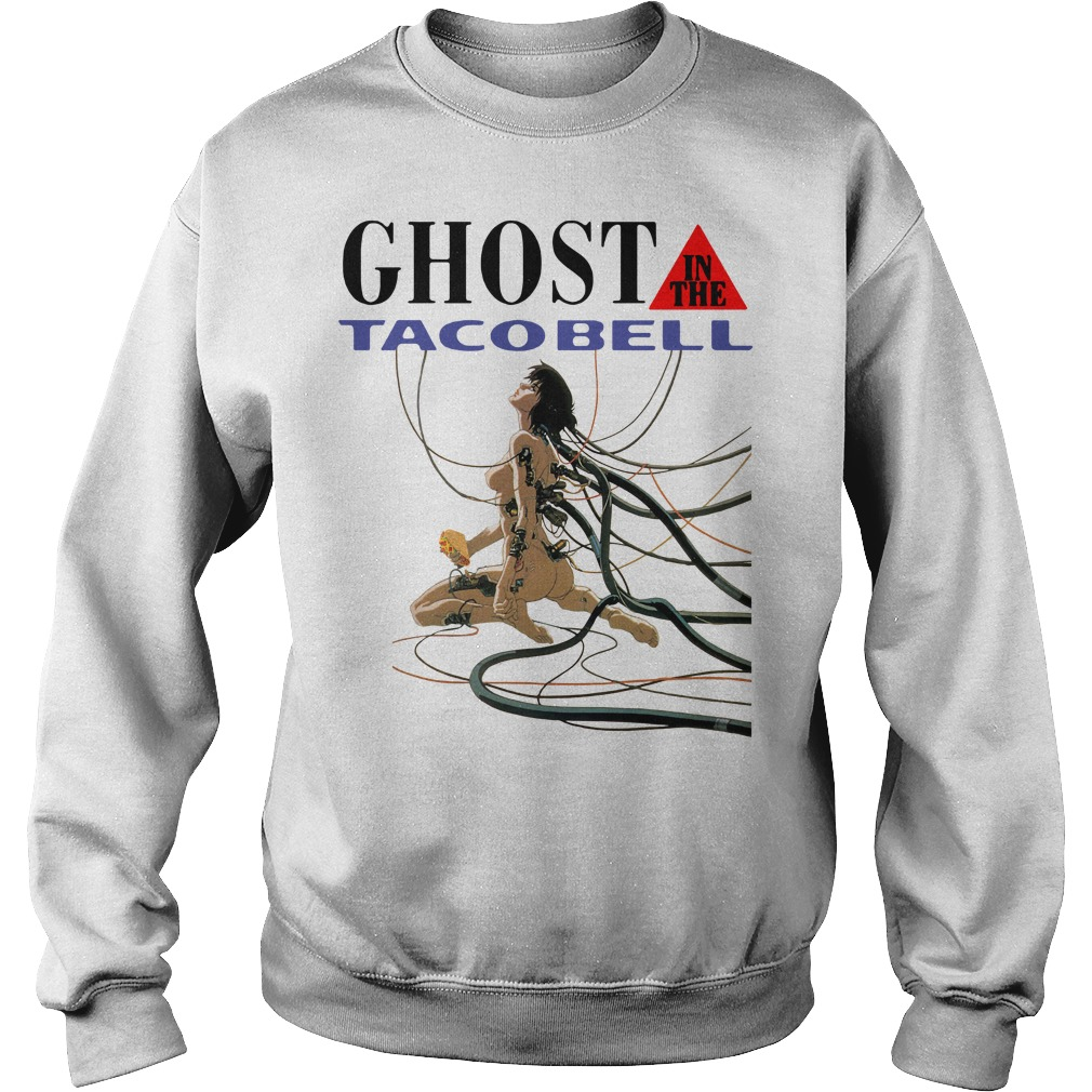 Ghost in the taco bell Sweater