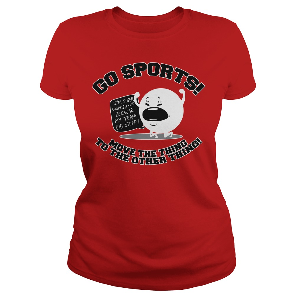 Go sports move the Ladies tee