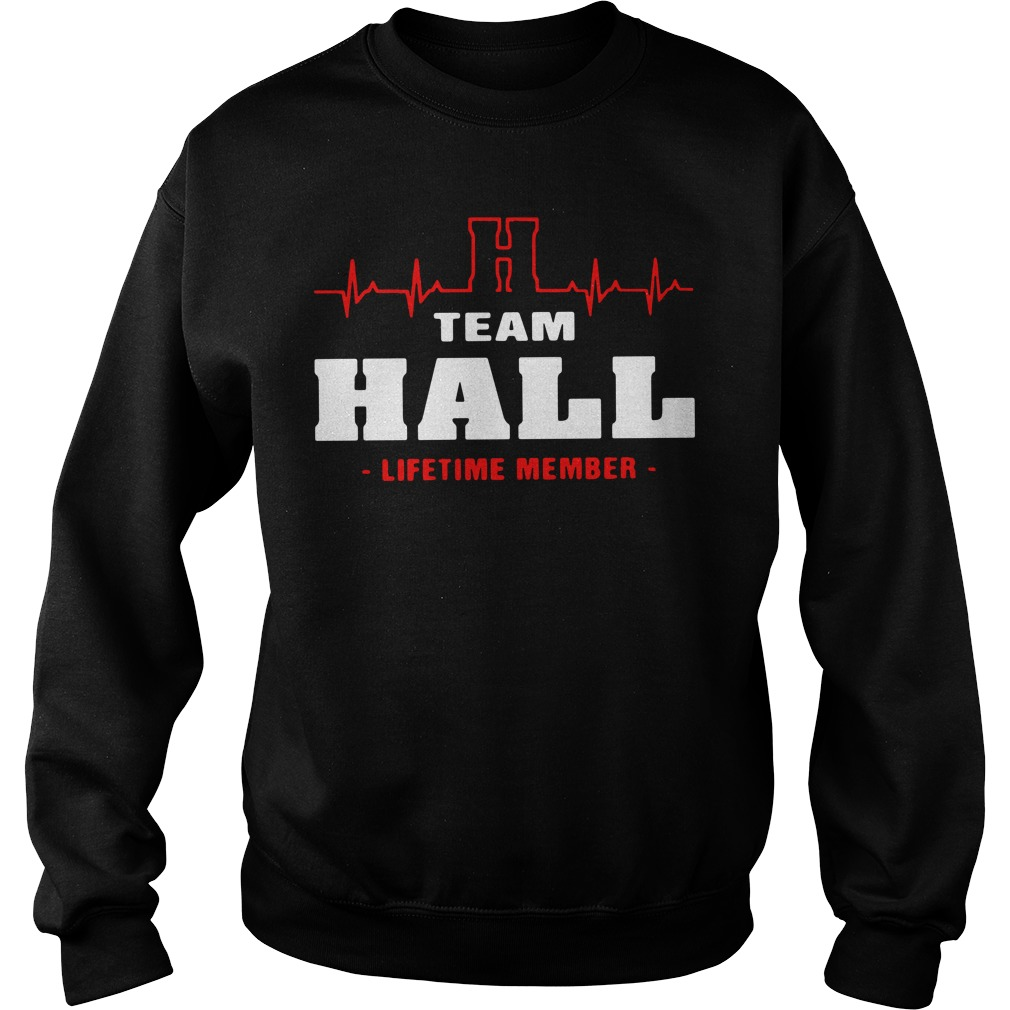 Heartbeat H team Hall lifetime member Sweater