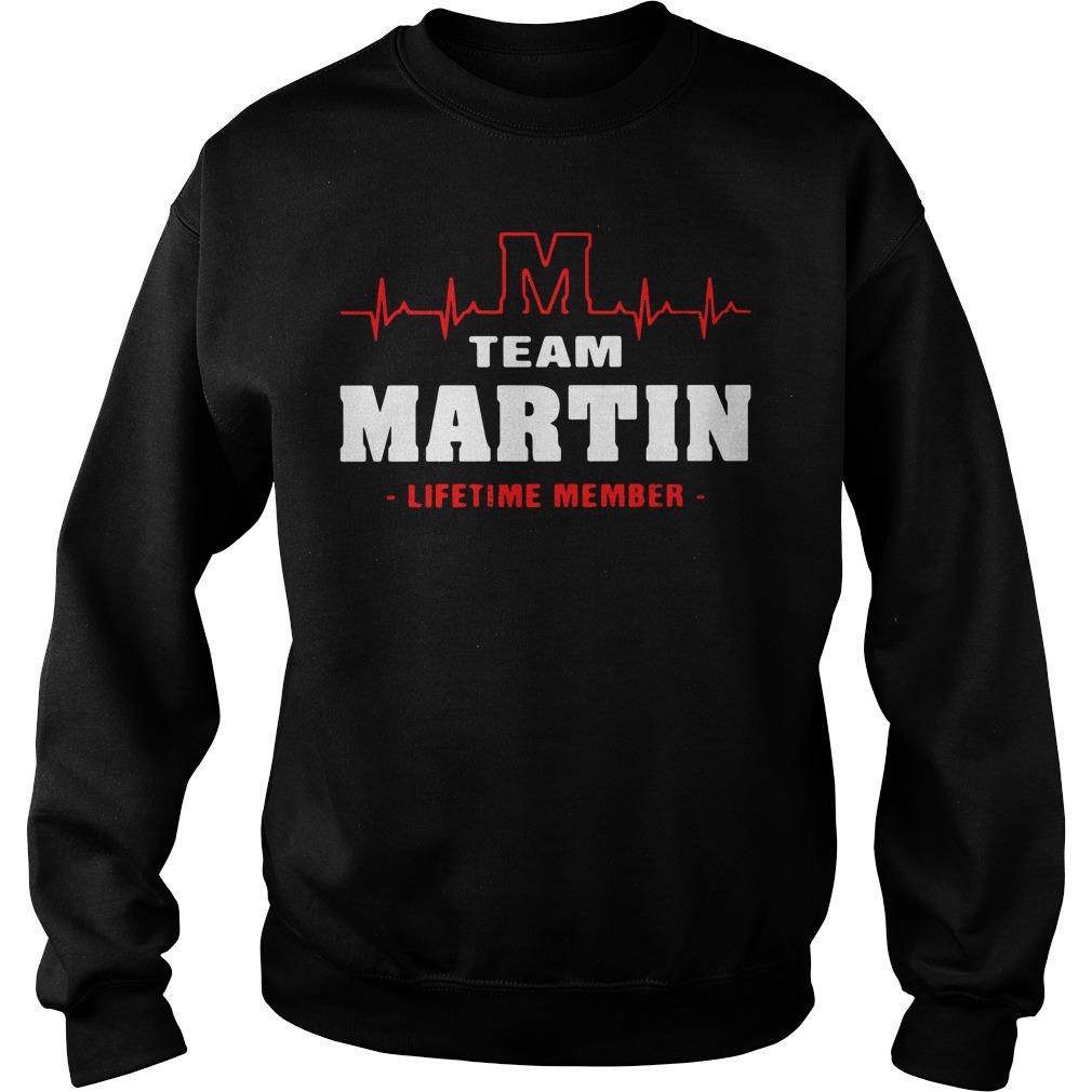 Heartbeat M team Martin lifetime member Sweater
