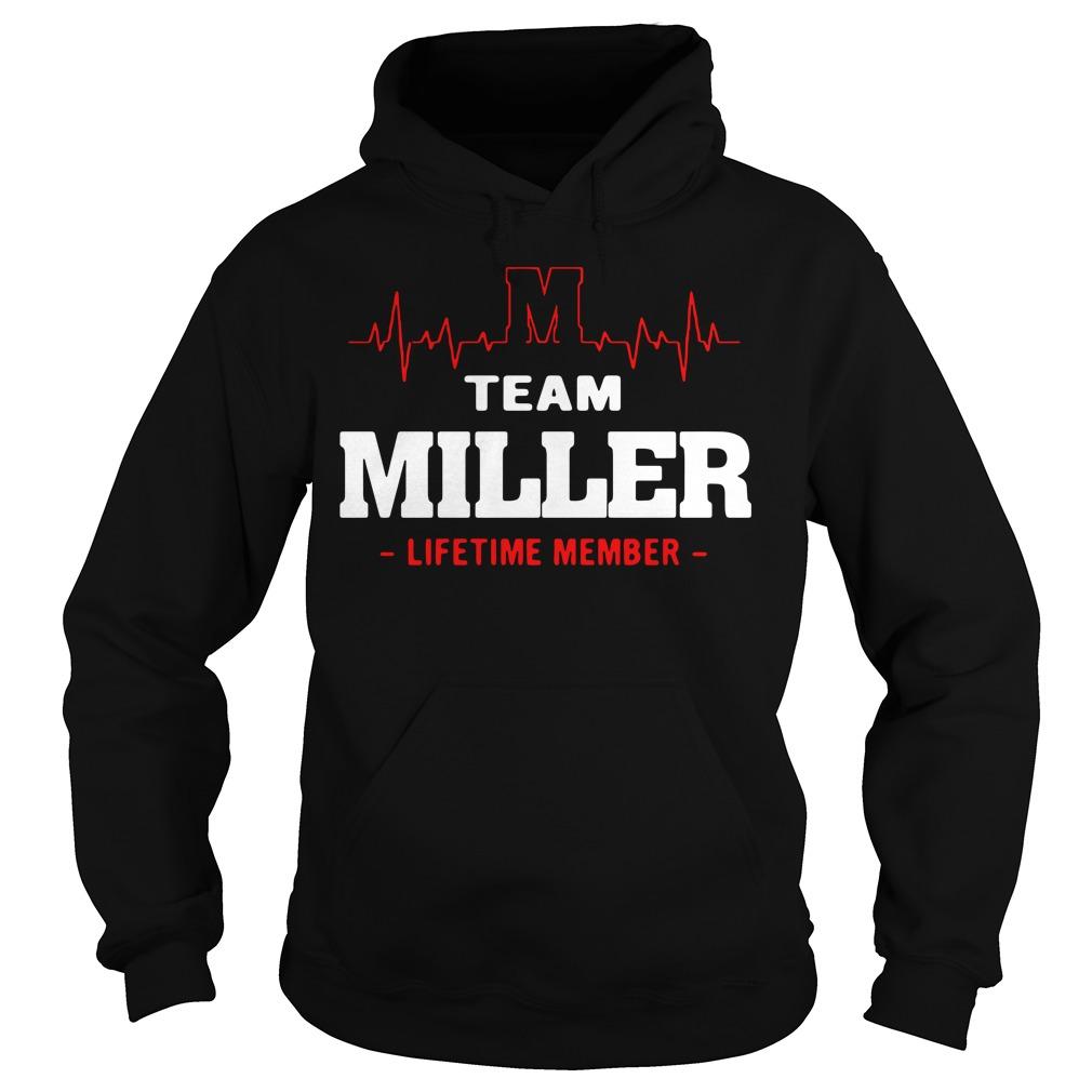 Heartbeat M team Miller lifetime member Guys shirt