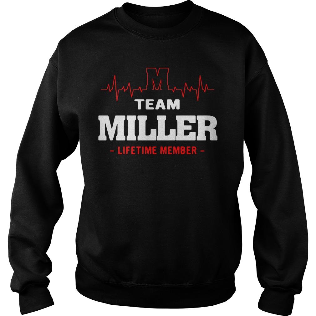 Heartbeat M team Miller lifetime member Sweater