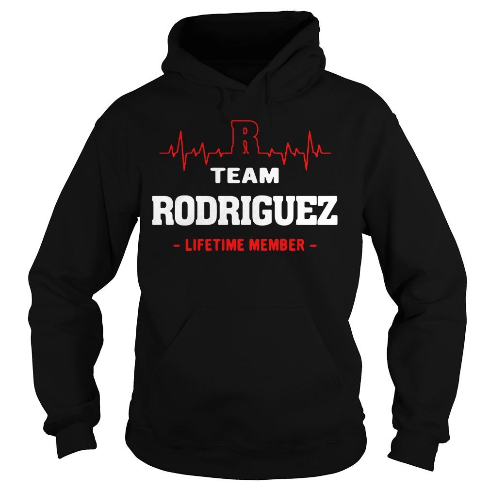 Heartbeat R team Rodriguez lifetime member Hoodie