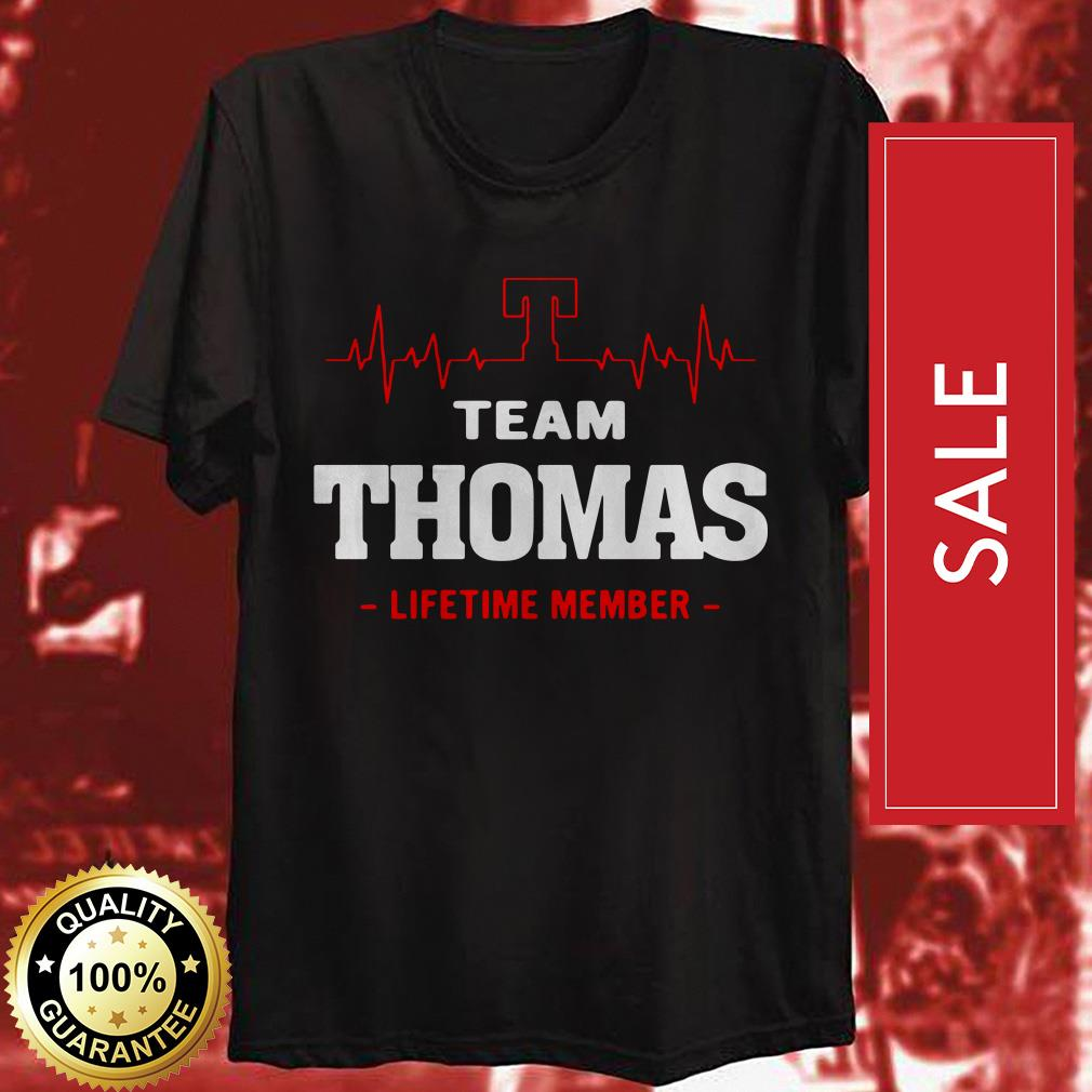Heartbeat T team Thomas lifetime member shirt