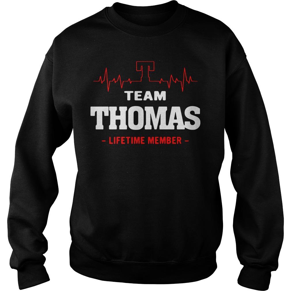 Heartbeat T team Thomas lifetime member Sweater