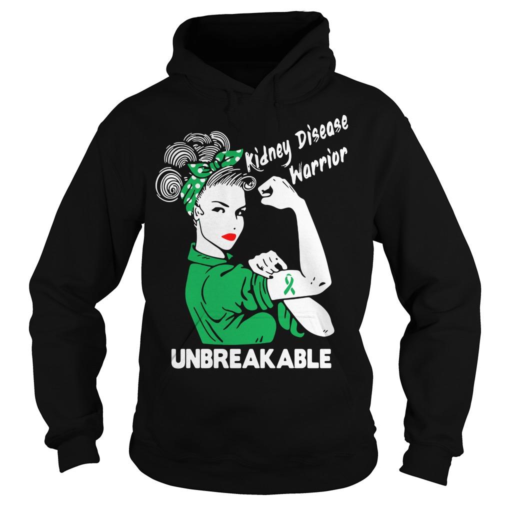 Kidney disease warrior unbreakable sweater