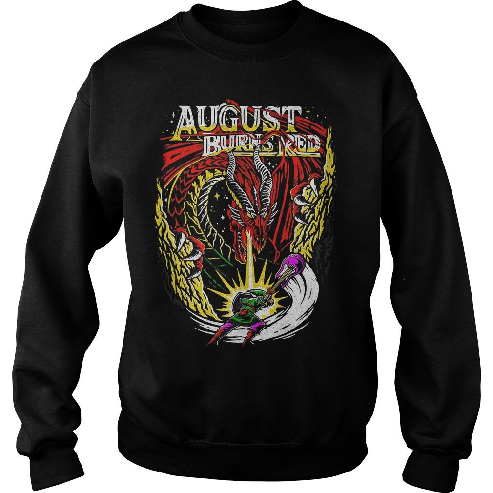 The Legend of Zelda August burns red Sweater