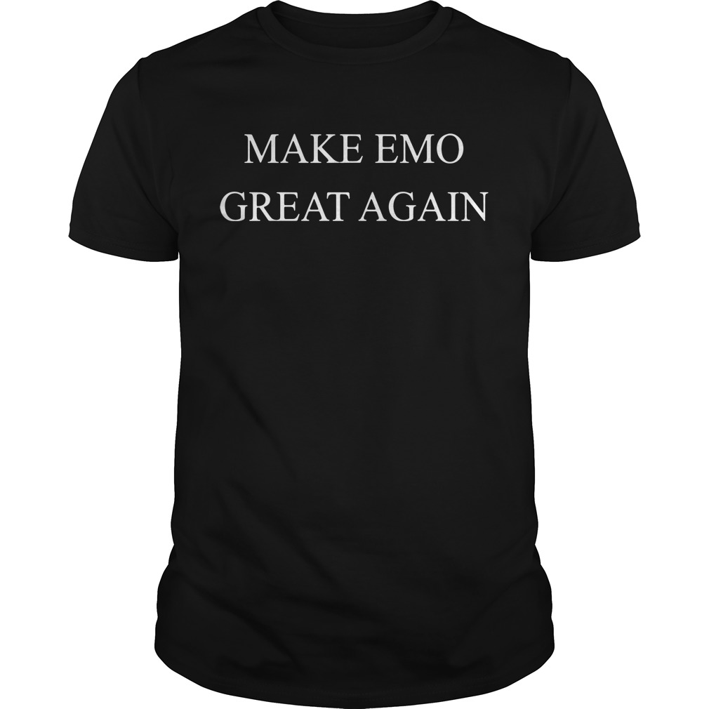 Make emo great again Guys shirt