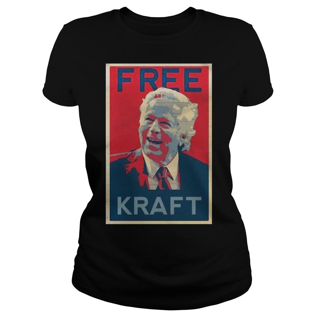 Official Free Mr. Kraft Ladies tee