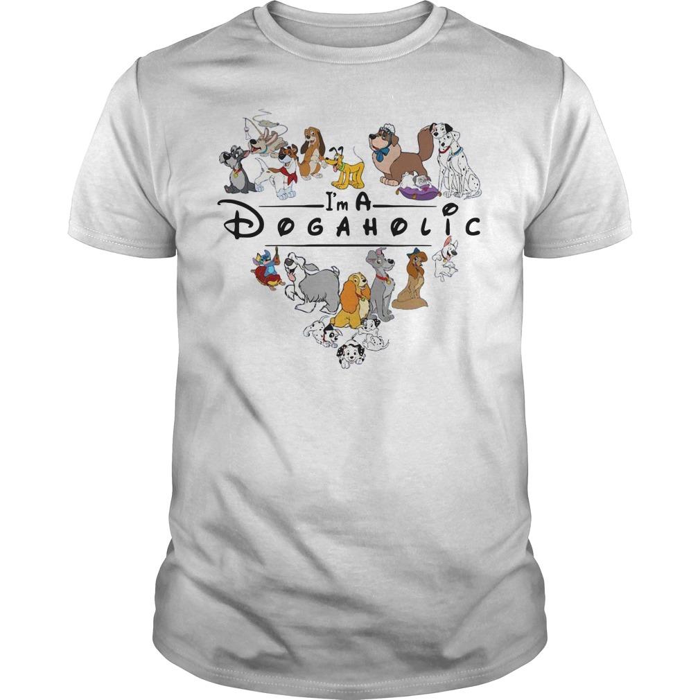 Official I'm A Dogaholic Guys shirt