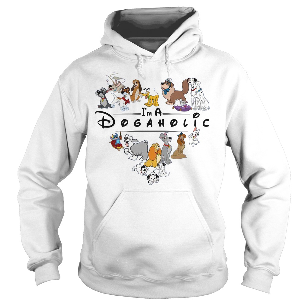 Official I'm A Dogaholic Hoodie