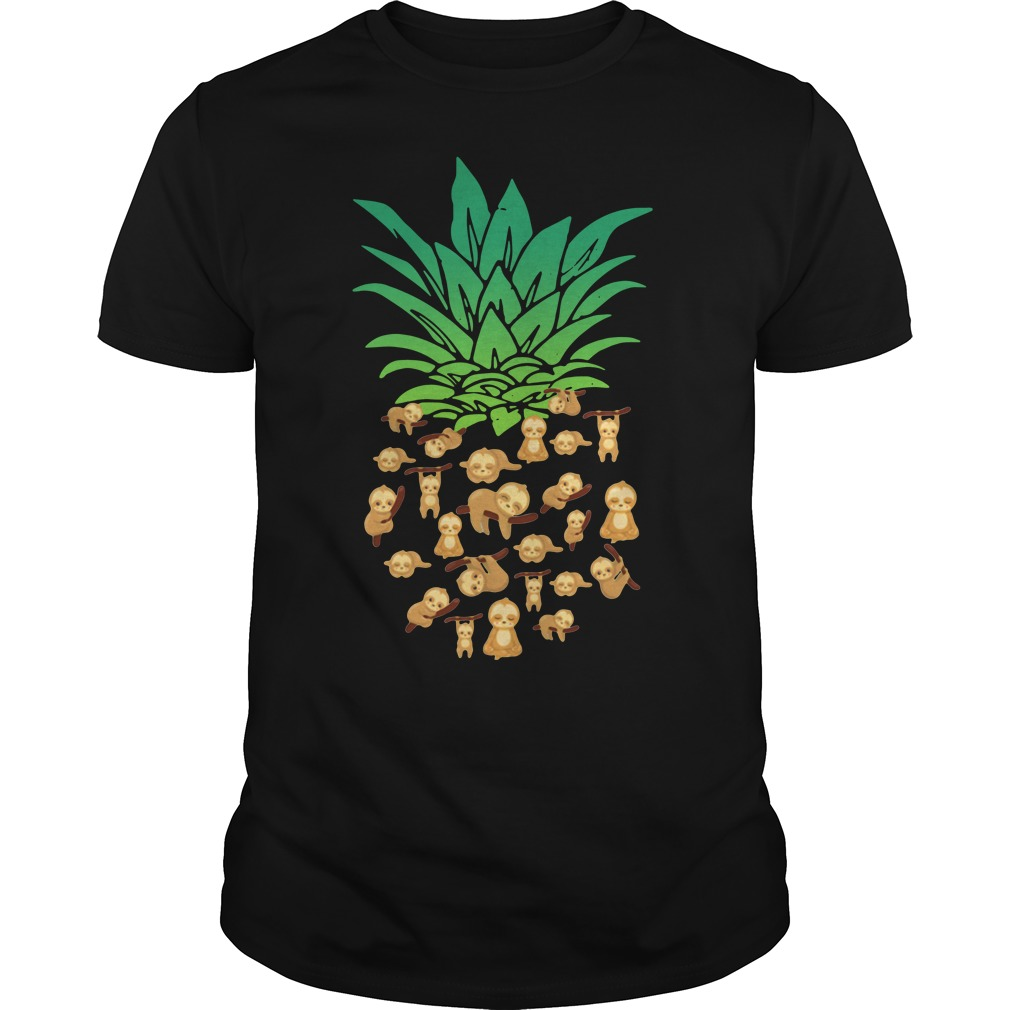 Official Pineapple Sloth Guys shirt