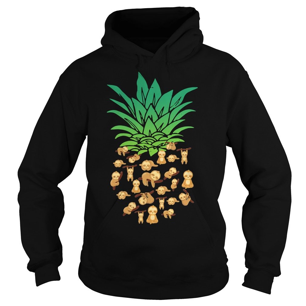 Official Pineapple Sloth Hoodie