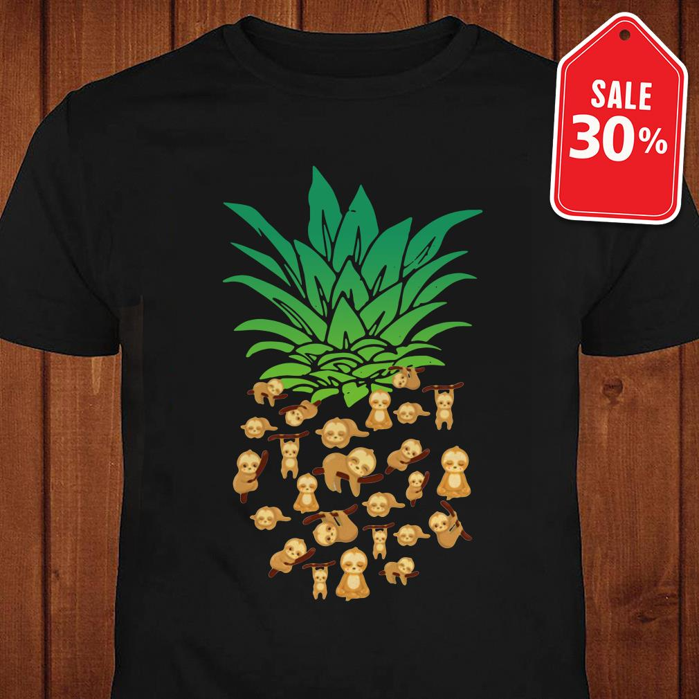 Official Pineapple Sloth shirt