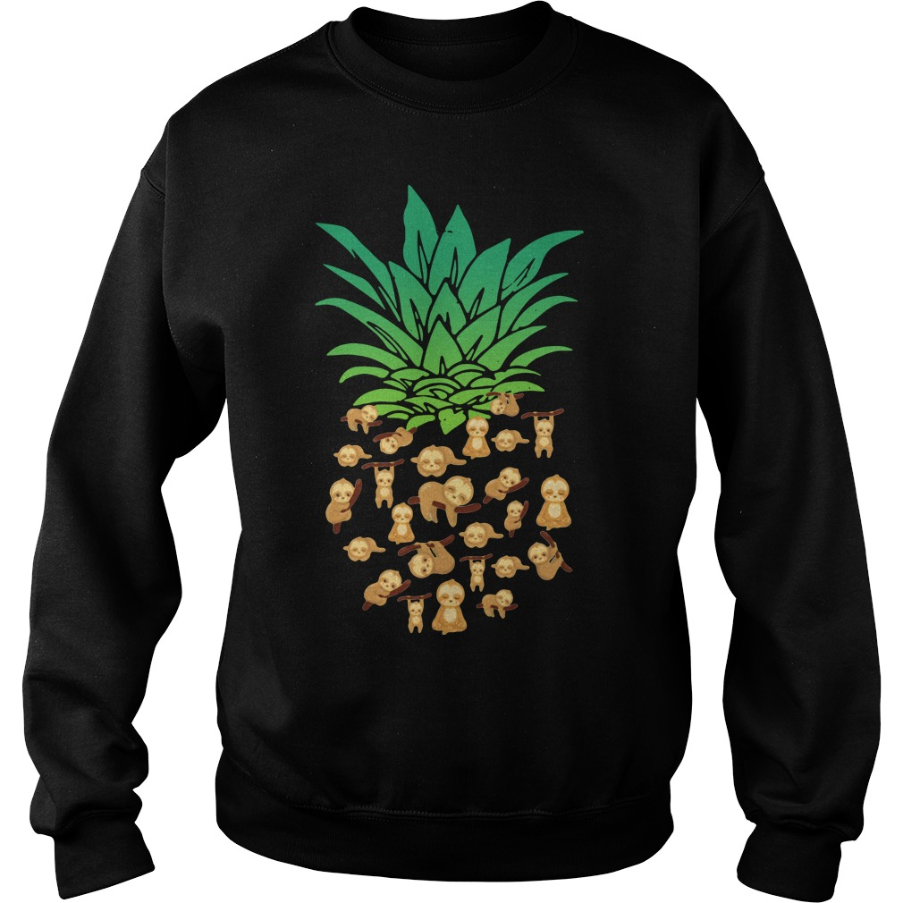 Official Pineapple Sloth Sweater