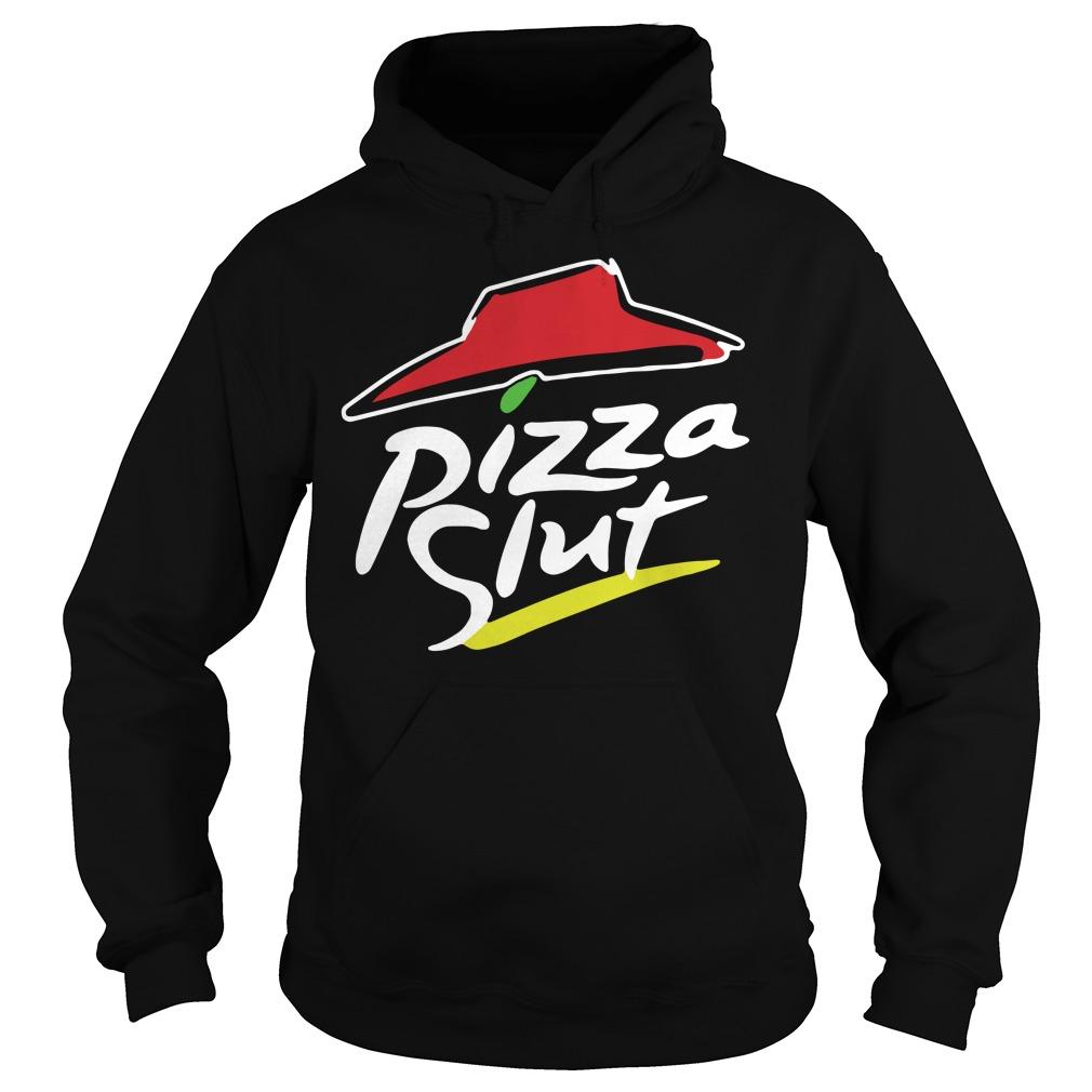 Official TeeIsland Pizza Slut Hoodie