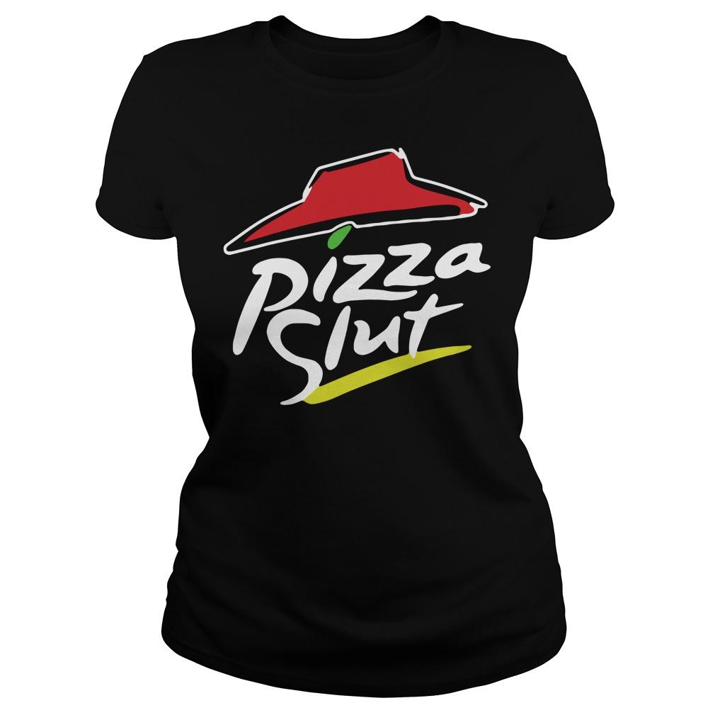 Official TeeIsland Pizza Slut Ladies tee