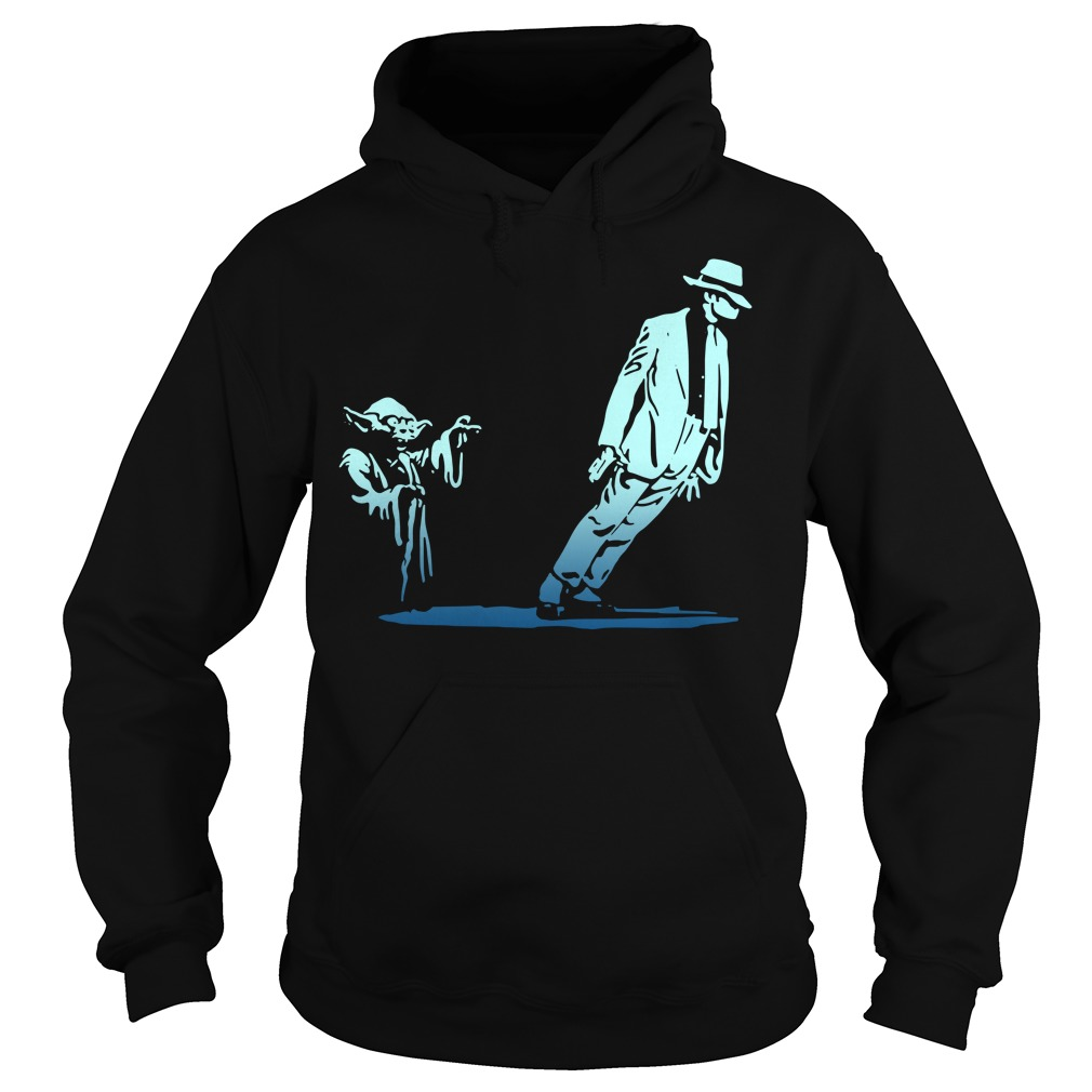 Star Wars Yoda and Michael Jackson Hoodie