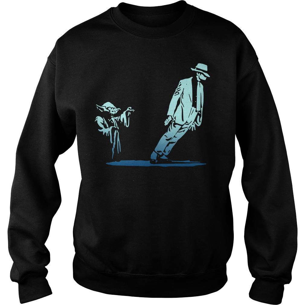 Star Wars Yoda and Michael Jackson Sweater