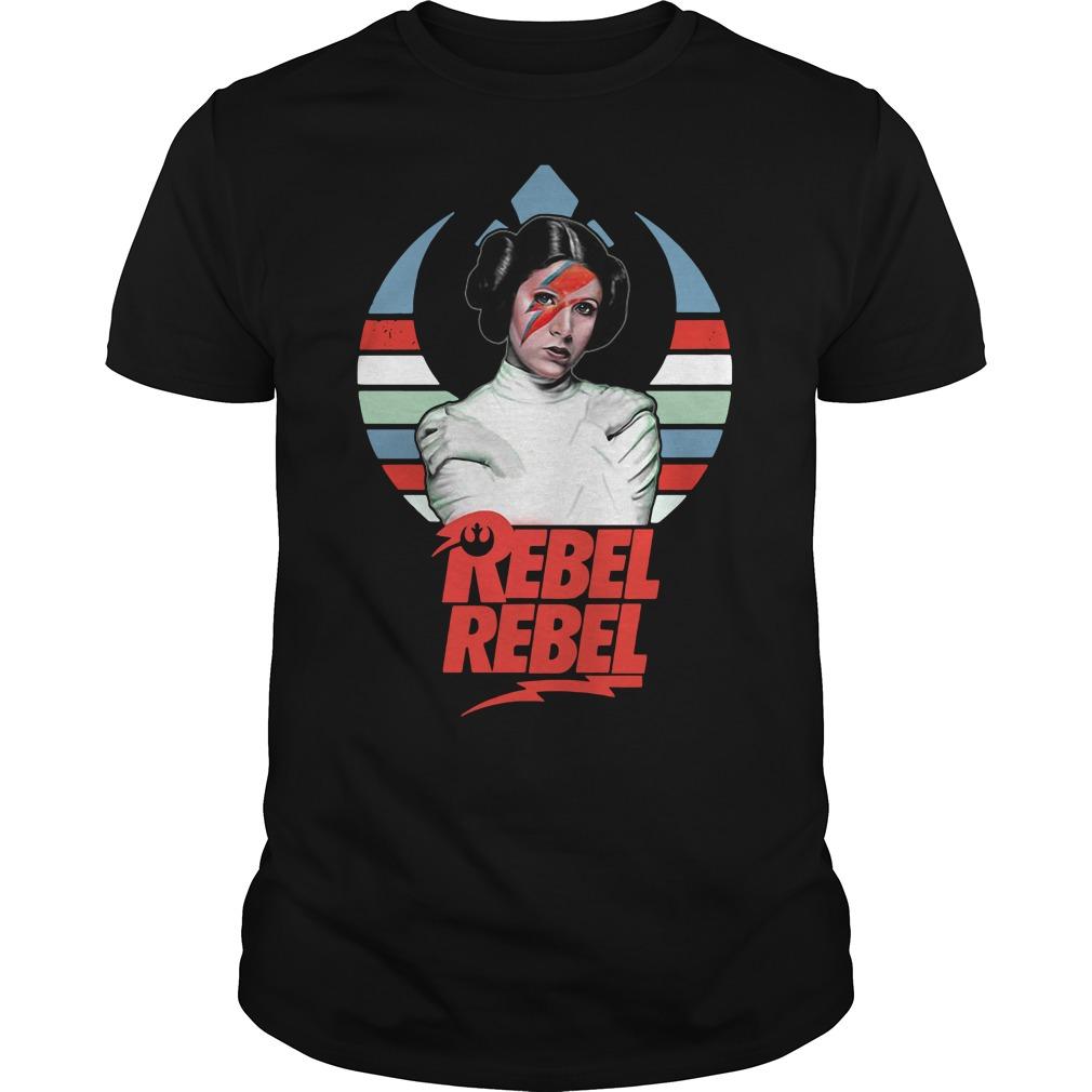 Star wars princess Leia Organa rebel rebel vintage Guys shirt