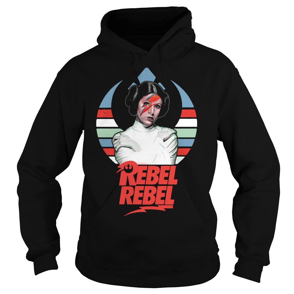 Star wars princess Leia Organa rebel rebel vintage Hoodie