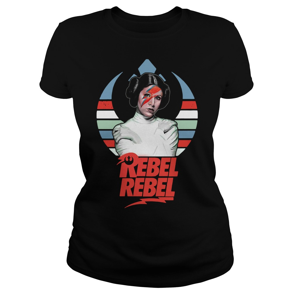Star wars princess Leia Organa rebel rebel vintage shirt
