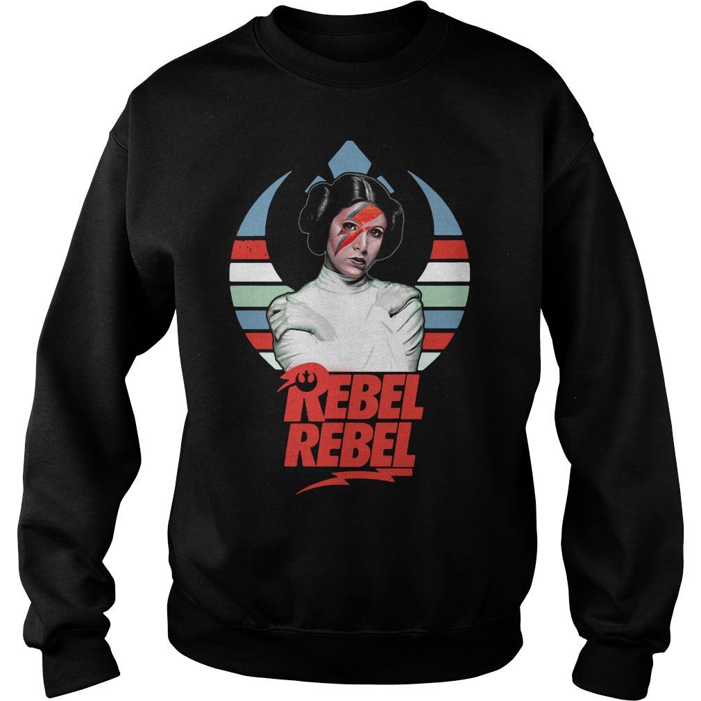 Star wars princess Leia Organa rebel rebel vintage Sweater