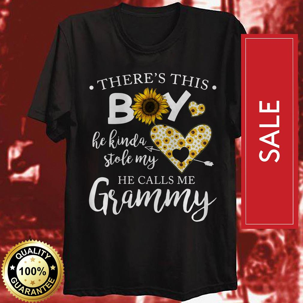 There's this boy he kinda stole my he calls me Grammy shirt