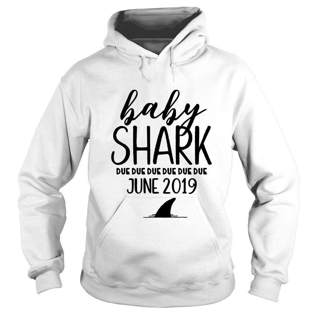Baby shark due due due due due due june 2019 Hoodie