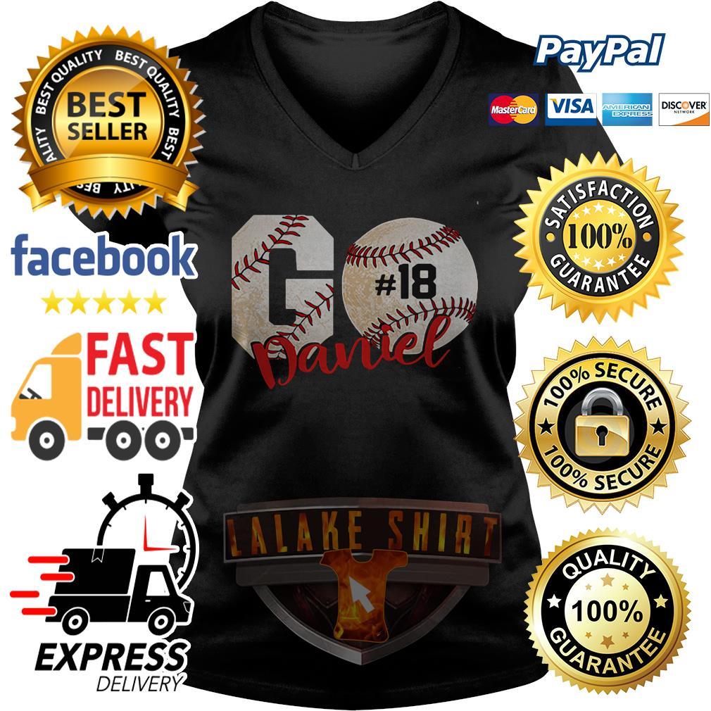 Baseball Go danie 18 V-neck t-shirt
