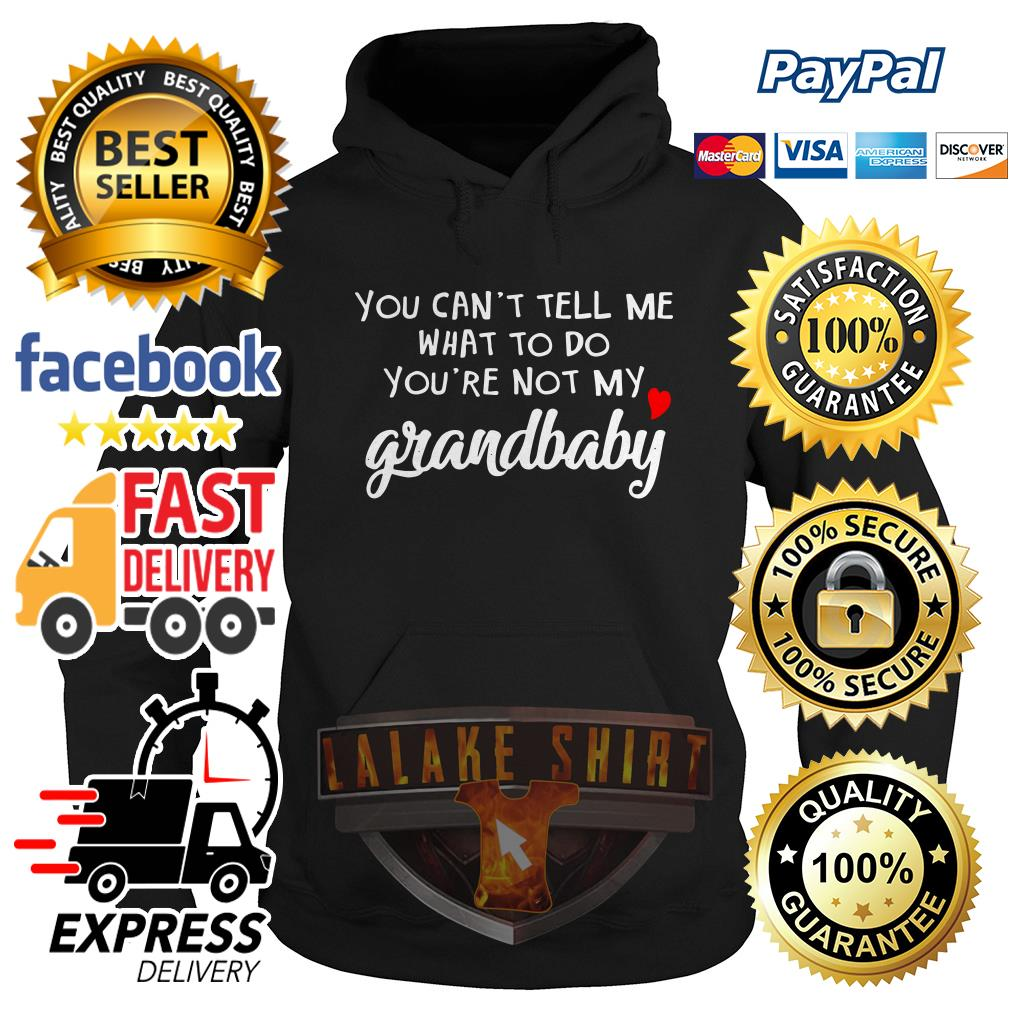 You can't tell me what to do you're not grandbaby Hoodie